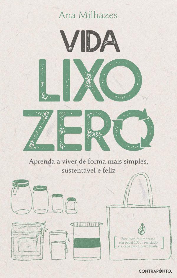 Livro Vida Lixo Zero - Ana Milhazes